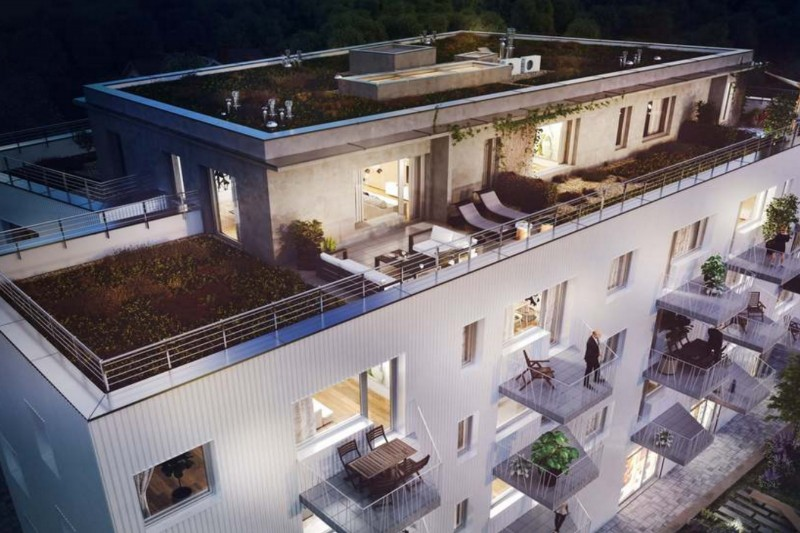 Квартира 1+кк, 30,5 м2, Hloubětín
