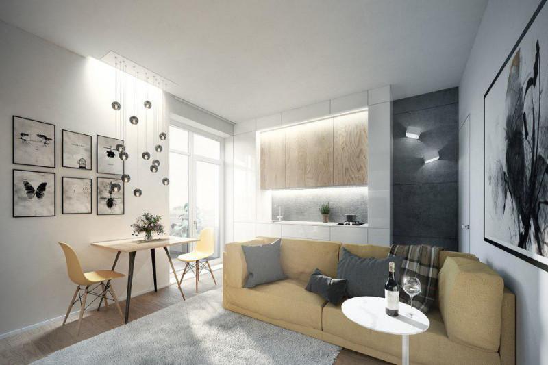 Квартира 1+кк, 28 м2, Krč