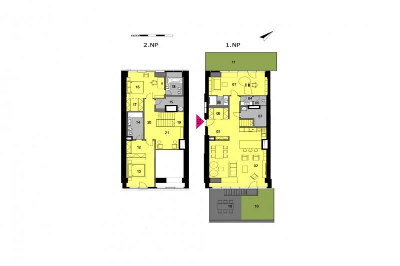 Квартира 5+кк, 277м2, Sacre Coeur