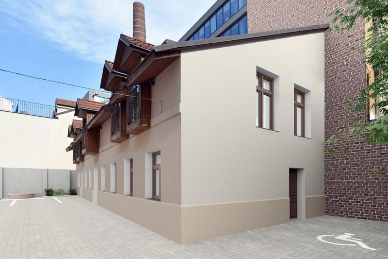 Квартира 1+1, 49м2, Smíchov