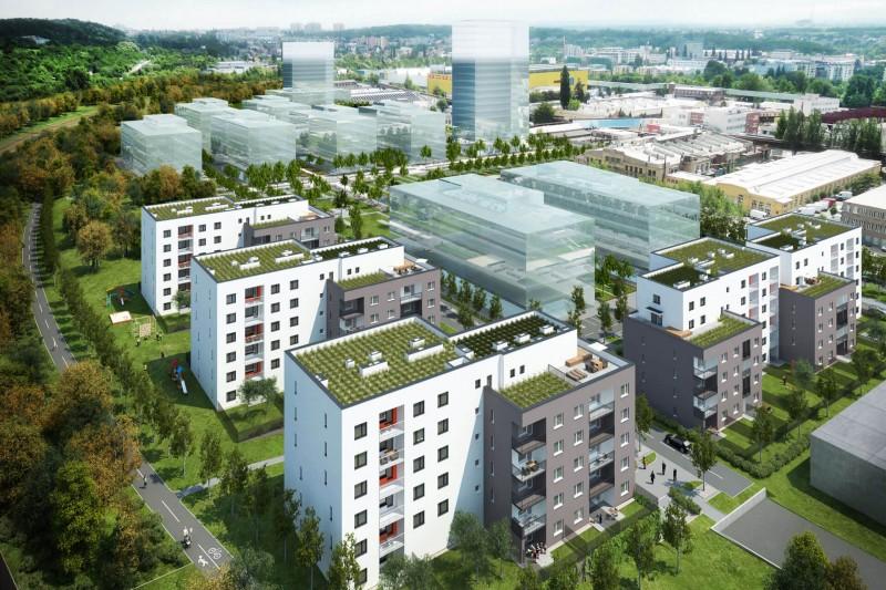 Квартира 1+кк, 38m², Tulipa City